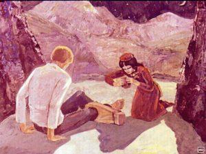 Кавказкий пленник Лермонтов