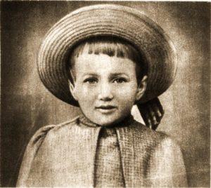 Ахматова в детстве