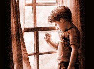 грустный мальчик
