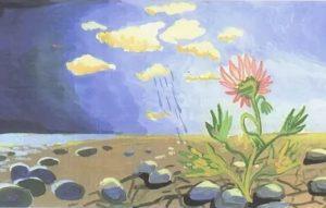 Цветок на пустыре