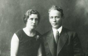 Михаил Александрович и Мария Петровна Шолоховы