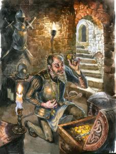 Кратко «Скупой рыцарь» А. С. Пушкин