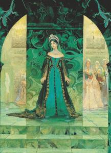 Танюшка во дворце