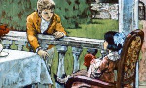 Вася просит куклу у сестры